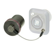 SCNO-FDW-A Neutrik opticalCON rugged sealing cover for DUO & QUAD