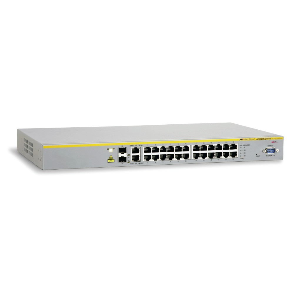 Allied Telesis AT-8000S/24POE 24 Port 100Mb