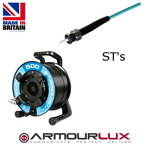 ArmourLux500 Tactical 4 Core ST Plugs OS1/2