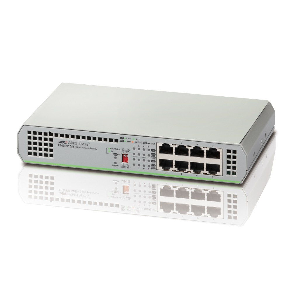 Allied Telesis AT-GS910/8 GbE Switch