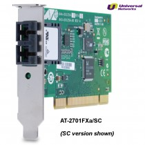 Allied Telesis 100Mb Fibre Low Profile Network Adapter, 1 x 100Base-FX ST, PCI 2.2
