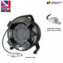 Cat5e Deployable Cable on Reel