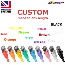 Category 5e Unshielded UTP, 11 Colours, any length