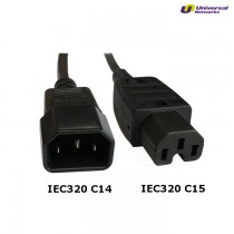 IEC C15/14 Hot Condition Power Cable