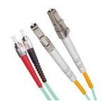 Armoured OM3 LSZH Fibre Patch Cable, LC-FC