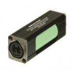 opticalCON DUO IP65 Coupler, Single Mode APC, Green