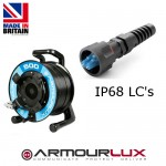 ArmourLux500 Tactical 4 Core LC IP68 Plugs OM3