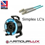 ArmourLux500 Tactical 4 Core LC Plugs OM3