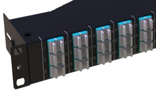 Fixed 1U Patch Panels