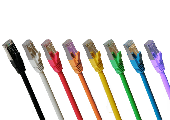 Cat6a LSZH Shielded S/FTP, 9 Colours, any length to 100m