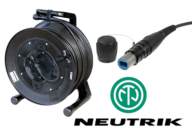 Neutrik OpticalCON Fibre