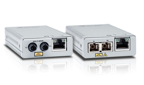 MMC2000 Gigabit Fibre Mini Media and Rate Converters