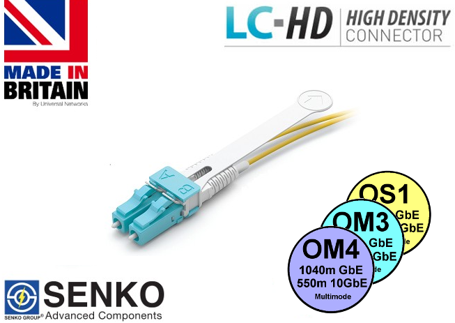 LC-HD PULL TAB Patch Leads