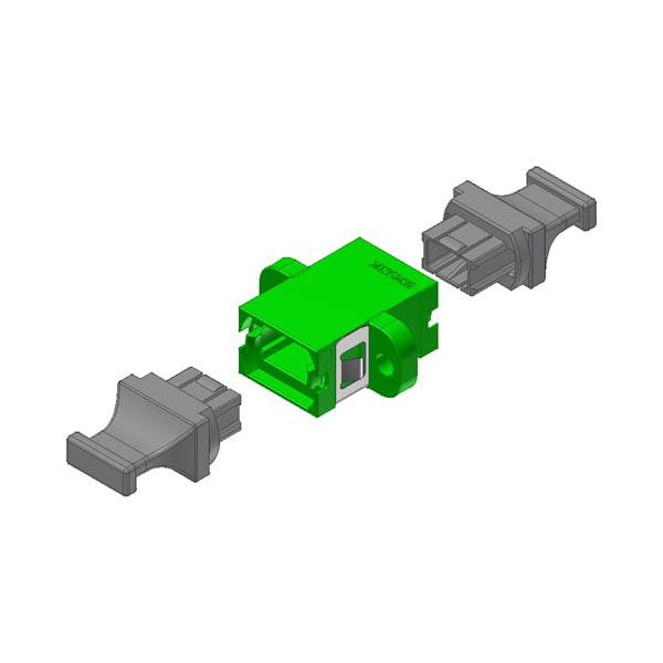 12218 US Conec MTP Adapter green