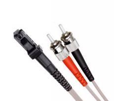 Multi Mode Duplex Fibre Patch Cable, MTRJ-ST OM2