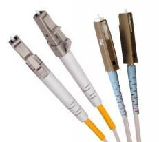 Single Mode Duplex Fibre Patch Cable, 62.5/125, MU-LC