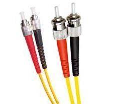 Single Mode Duplex Fibre Patch Cable, FC-ST, OS1