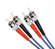 Multi Mode Duplex Fibre Patch Cable, ST-ST OM2