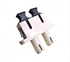 ST-SC Adapter, Multi-Mode, Phosphor Bronze Sleeve, Duplex