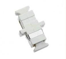SC-SC Adapter, Multi-Mode, Phosphor Bronze Sleeve, Simplex