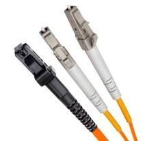 Multi Mode Duplex Fibre Patch Cable, LC-MTRJ OM1.
