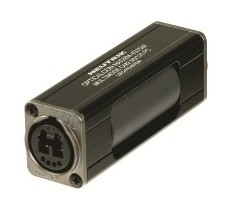 opticalCON DUO IP65 Coupler, Multi Mode PC, Black