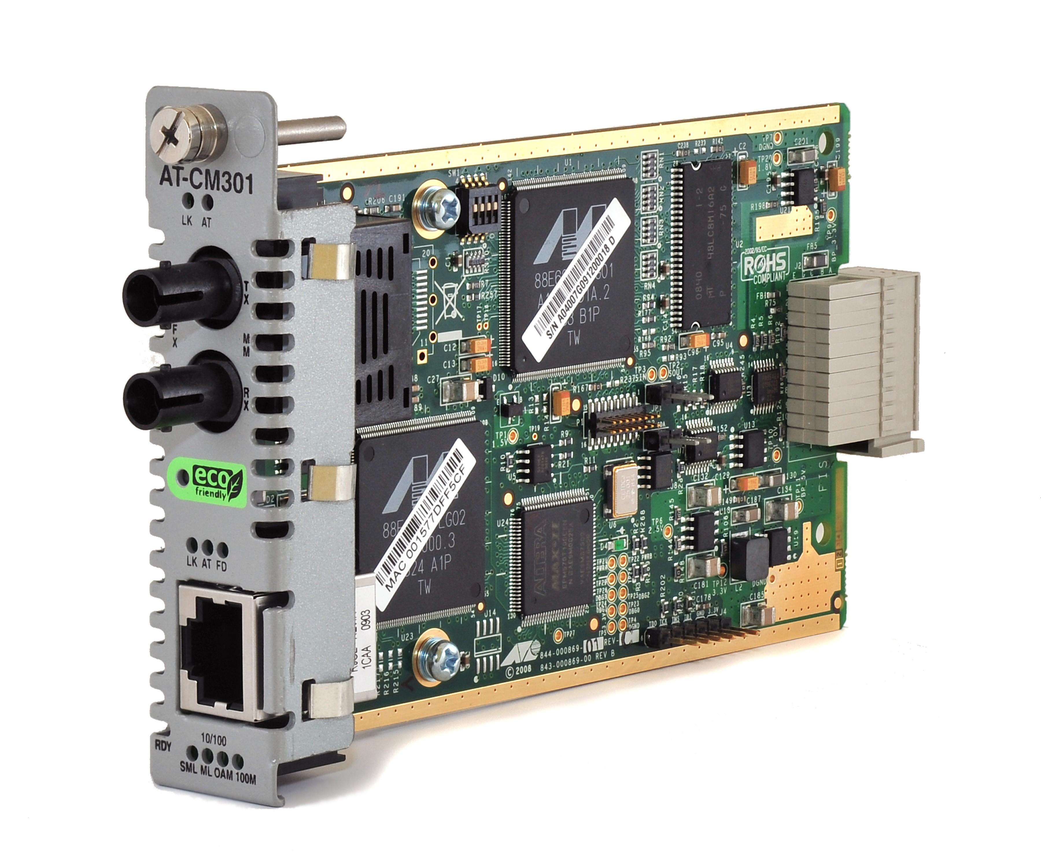 Allied Telesis AT-CM301 100Mb Copper / Fibre Multi Mode