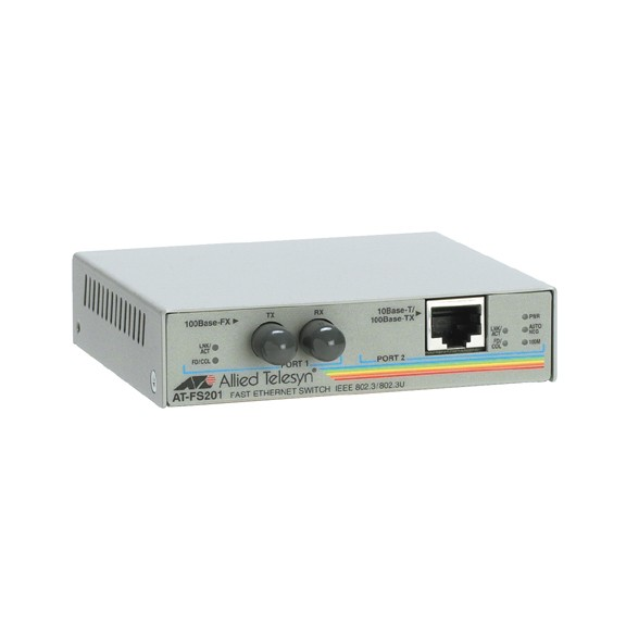 Allied Telesis AT-FS201 100Mb Copper to Fibre SC MM