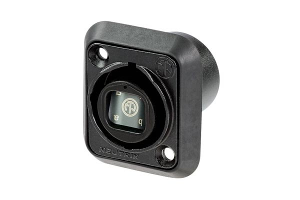 Neutrik opticalCON QUAD Advanced Chassis Connector
