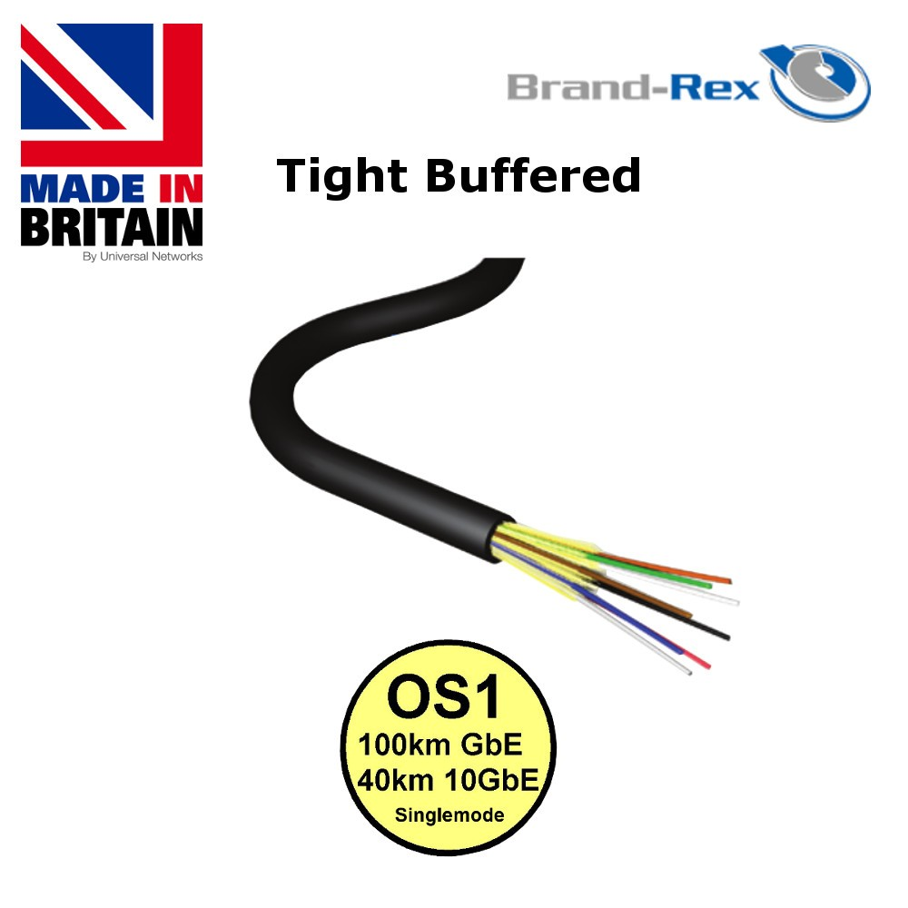 Brand-Rex Multi Mode OS1 Tight Buffered PDC Cable
