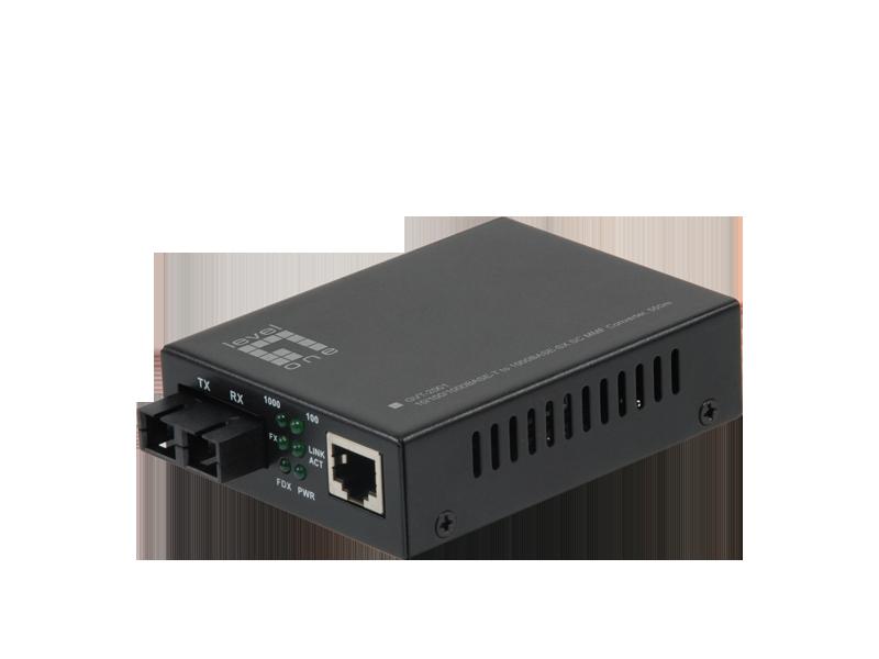 LevelOne Media Converter GVT-2001, SC Multi-Mode