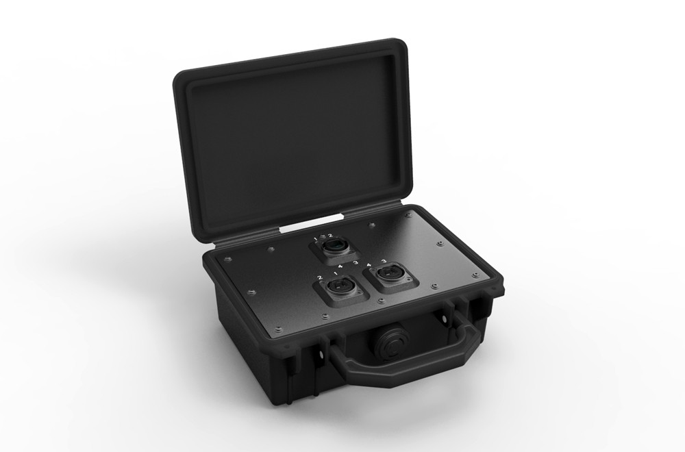 NO4MBB2D Neutrik OpticalCon Breakout Box