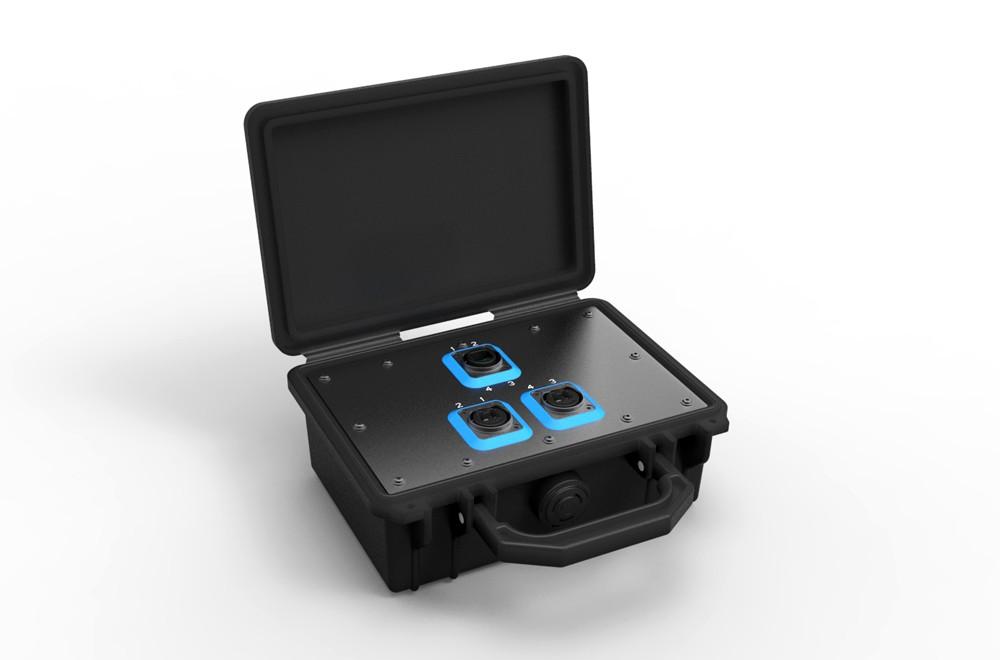 NO4SBB2D Neutrik OpticalCon Breakout Box