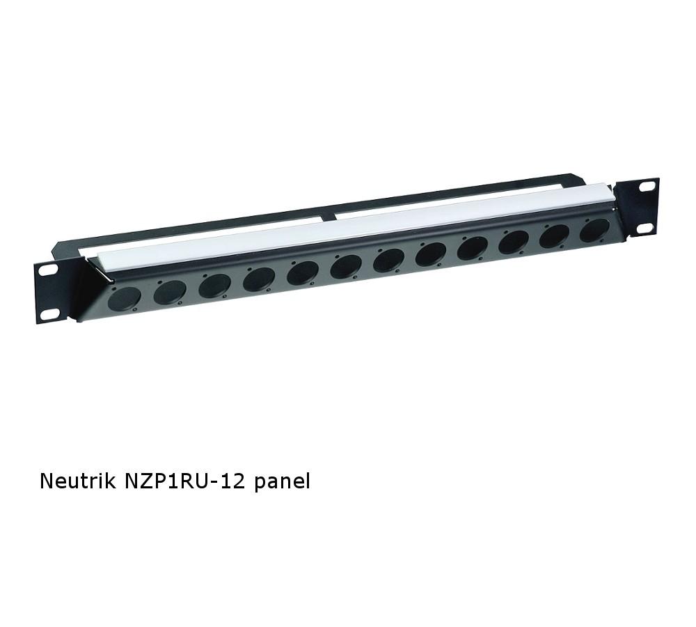 Neutrik NZP1RU-12 Panel