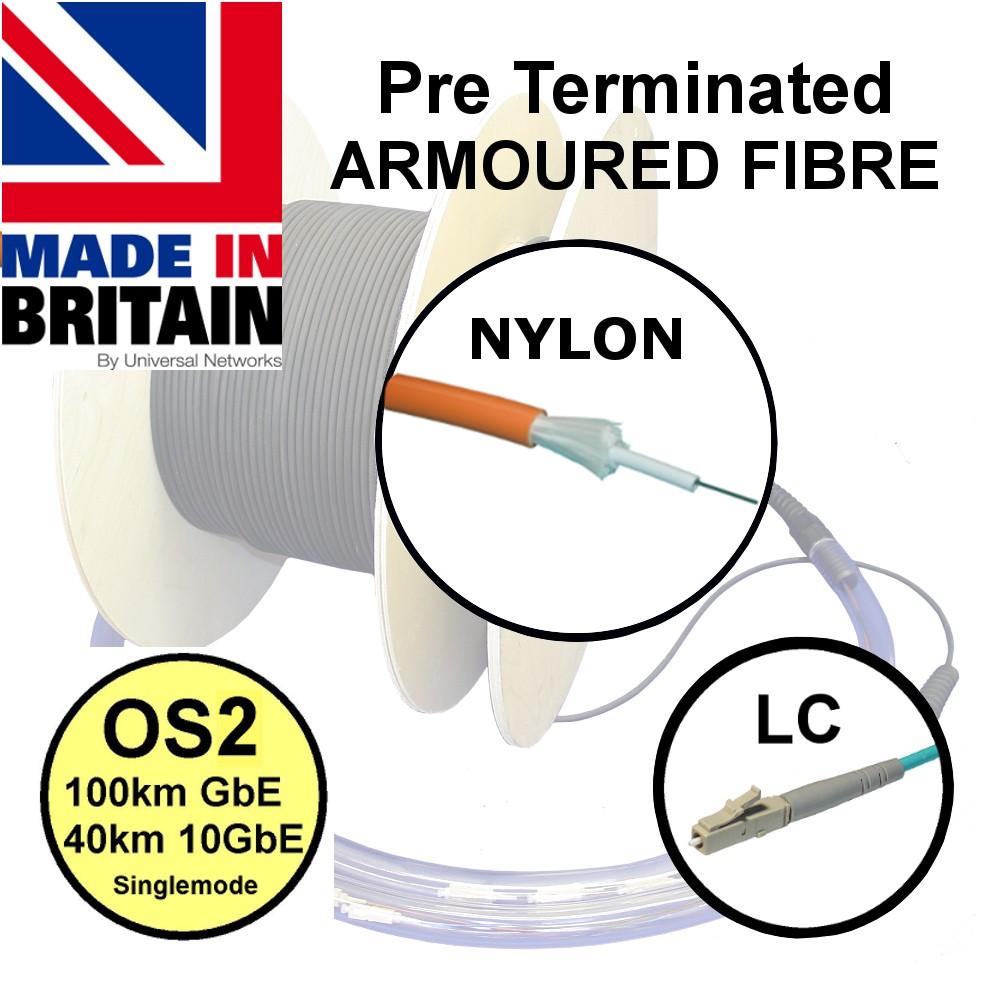 Pre Term Nylon Fibre SWA OS2 LC