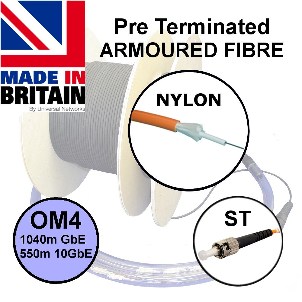Pre Term Nylon Fibre SWA OM4 ST