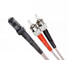 Multi Mode Duplex Fibre Patch Cable, MTRJ-ST OM1