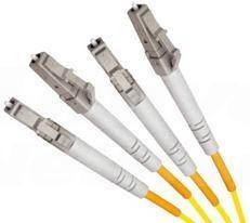 Single Mode Duplex Fibre Patch Cable, LC-LC OS1