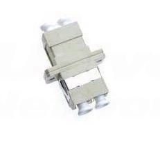 LC-LC Adapter, Multi-Mode, SC Simplex Foot-Print, Phosphor Bronze Sleeve, Duplex