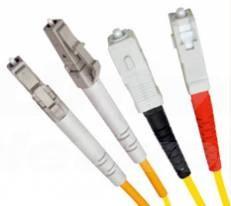 Single Mode Duplex Fibre Patch Cable,  LC-SC OS1