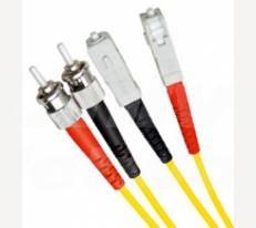Single Mode Duplex Fibre Patch Cable, ST-SC OS1