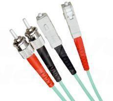 Multi Mode Duplex Fibre Patch Cable, ST-SC OM3