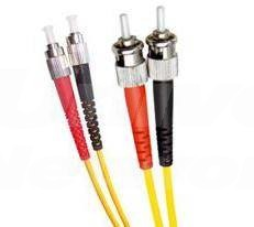 Single Mode Duplex Fibre Patch Cable, FC-ST, OS1