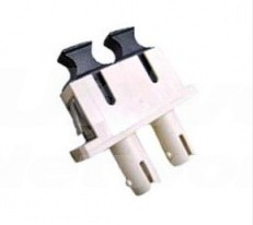 ST-SC Adapter, Multi-Mode, Phosphor Bronze Sleeve, Duplex
