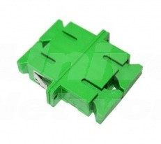 SCAPC-SCAPC Adapter, Single-Mode, Ceramic Sleeve, Duplex