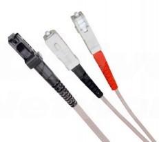 Multi Mode Duplex Fibre Patch Cable, MTRJ-SC OM1