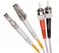 Multi Mode Duplex Fibre Patch Cable, LC-ST OM1