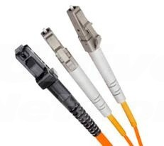 Multi Mode Duplex Fibre Patch Cable, LC-MTRJ OM1