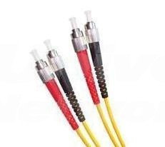 Armoured Single Mode LSZH Fibre Patch Cable, FC-FC