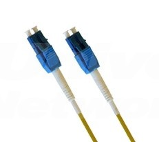 Armoured Single Mode LSZH Fibre Cable, LC Uniboot